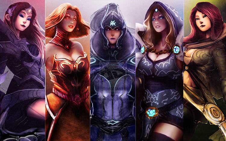 Top 10 nữ Hero có dung nhan tuyệt trần nhất trong Dota 2 (Phần 1)