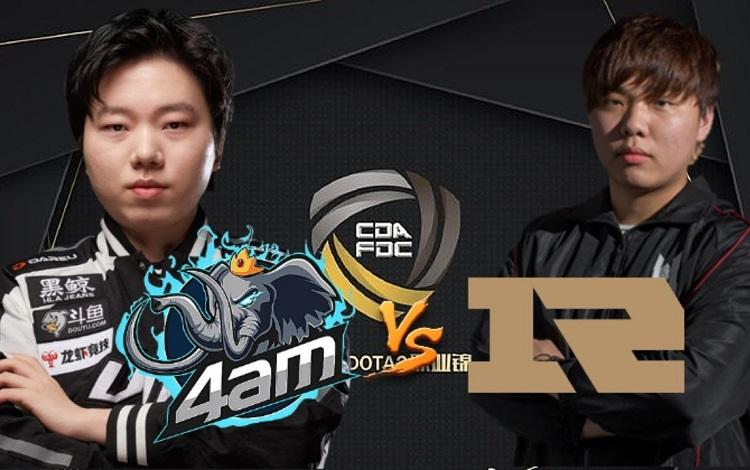 CDA Professional Championship: RNG vs 4AM - Vạn sự khởi đầu nan?