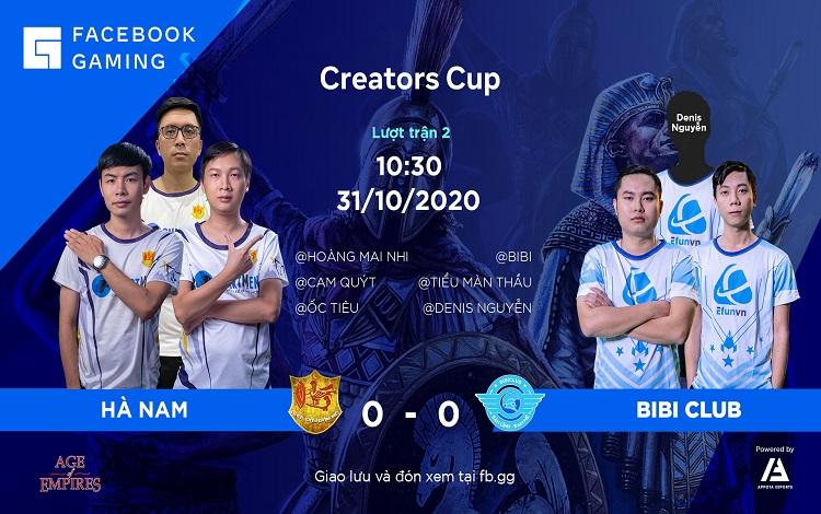 Facebook Gaming Creators Cup: Tường thuật trực tiếp ngày thì đấu thứ hai