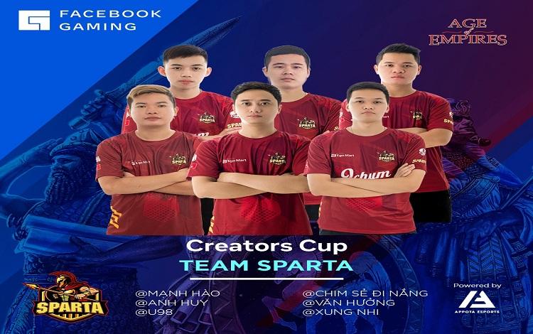 Facebook Gaming Creators Cup vòng thi đấu thứ 2 gọi tên CSDN và Sparta