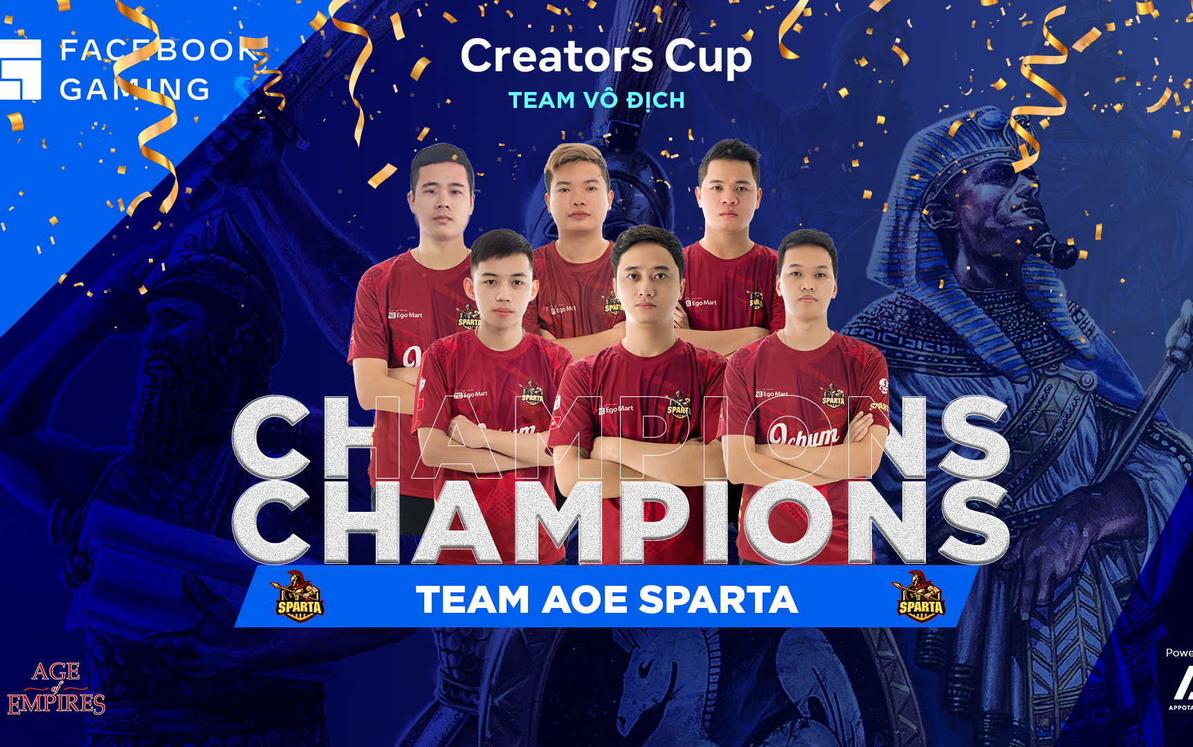 Facebook Gaming Creators Cup bất công gọi tên Nghệ An và chức vô địch xứng đáng giành cho Sparta