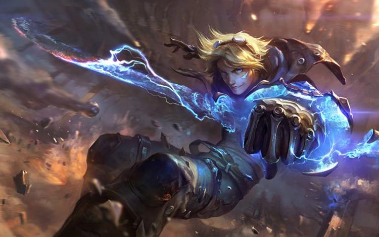 Ezreal cùng Thần kiếm Muramana đã bị nerf cực mạnh ở phiên bản cập nhật Tốc Chiến mới nhất