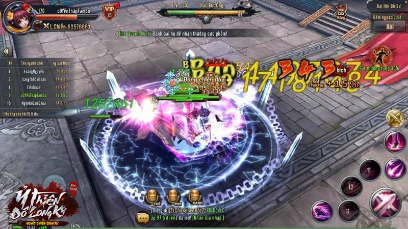 Cộng đồng Ỷ Thiên 3D rộn ràng săn Boss Đồ Sư tri ân thầy cô ngày 20/11