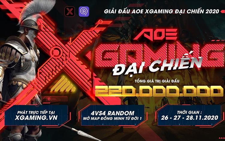 AoE Xgame Đại Chiến chính thức công bố lịch thi đấu
