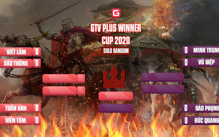 Kết quả và lịch thi đấu ngày thi đấu ngày 25 tháng 11 Giải đấu AOE I GTV Plus Winners Cup 2020