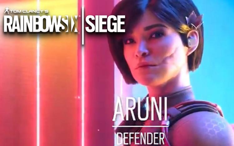 Cùng gặp gỡ Aruni, thành viên mới nhất trong team Rainbow Six