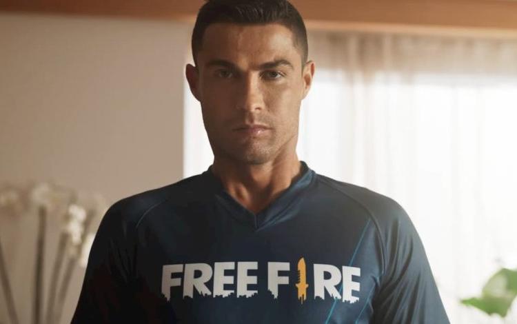 Siêu sao Cristiano Ronaldo làm đại sứ game Free Fire