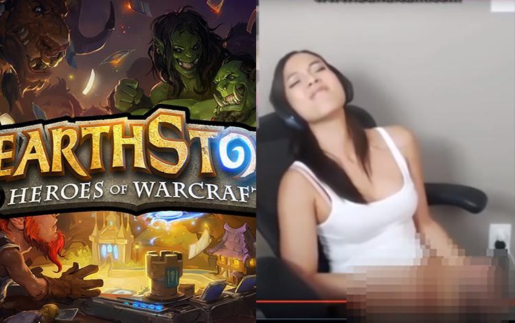 """Giai thoại về một thời """"làm chuyện ấy"""" ngay trên livestream của nữ game thủ Hearthstone"""