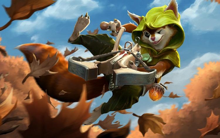 Tìm hiểu về Hero mới của Dota 2: Hoodwink - Cô sóc nhỏ với cây nỏ thần