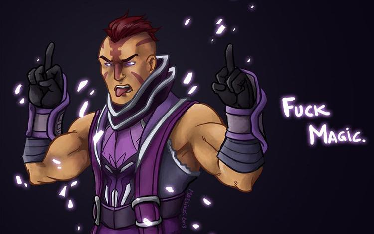 Tiểu sử Hero: Anti-Mage - Chàng nông dân ghét phép thuật