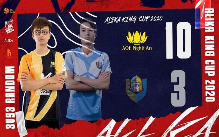 ALIKA KING CUP 2020: Ngày thi đấu thứ 3 với sự tỏa sáng của Clan Nghệ An