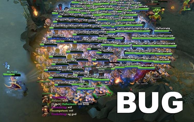 Đưa Hero của mình cho đội bạn chơi hộ với bug mới của Dota 2
