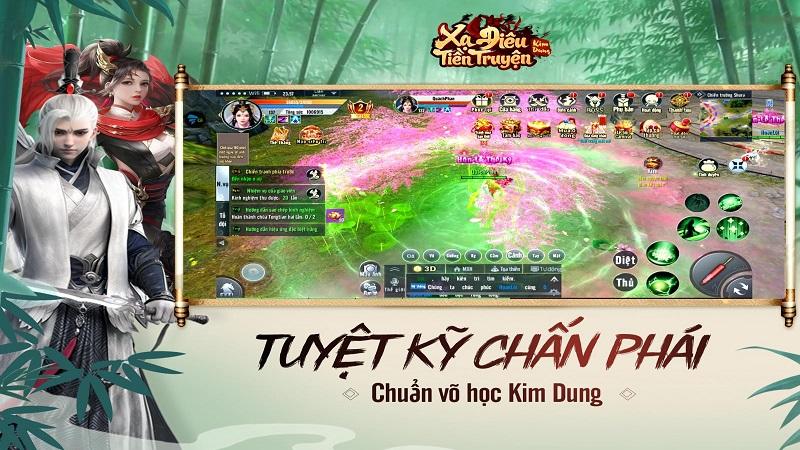 Vượt tầm MMO thông thường, Xạ Điêu Tiền Truyện đem trải nghiệm  võ học đỉnh cấp khuấy đảo làng game Việt