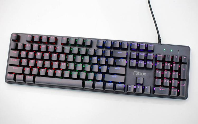 Bàn phím cơ gaming 'siêu rẻ mà bền vô địch': Fuhlen G900L