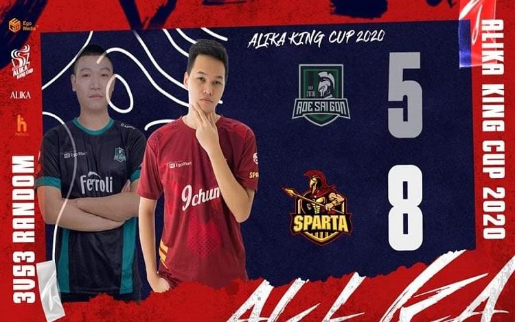 AoE ALIKA KING CUP 202 vòng 6: Ai có thể cản bước Sparta ở giải đấu lần này?