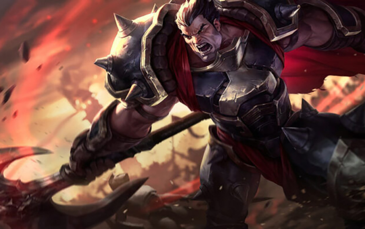 Darius được đeo sừng sẽ là một trong 4 trang phục Tân niên của Riot Games đưa vào LMHT?