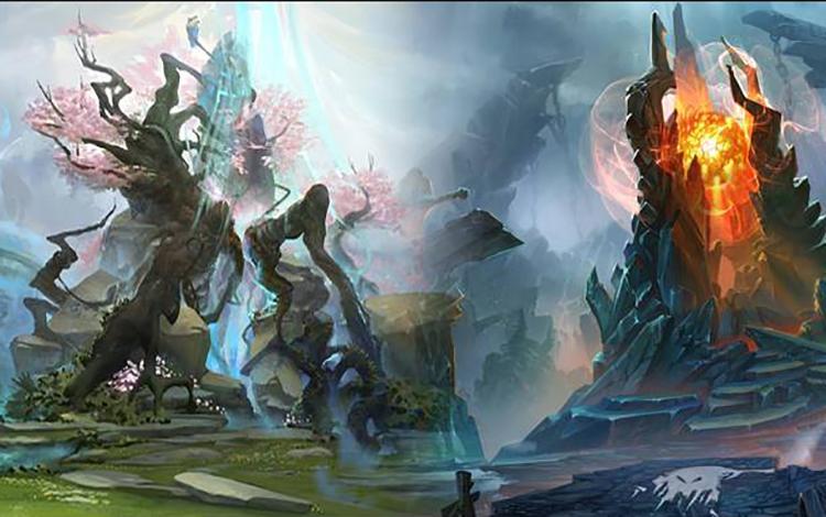 Chuyện thật như đùa: Thi đấu bên Radiant dễ thắng hơn bên Dire?