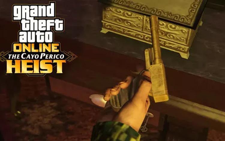 GTA V: Cách lấy Perico Pistol trong Cayo Perico Heist
