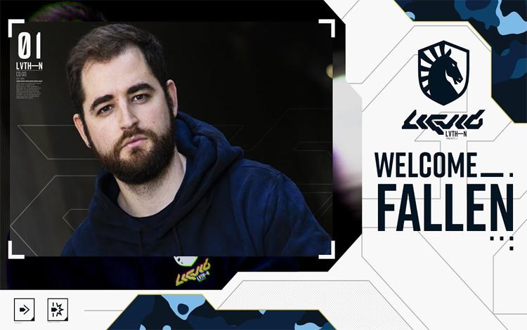 FalleN chính thức gia nhập Team Liquid