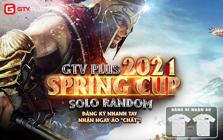 Giải đấu GTV Plus Spring Cup 2021 chính thức mở đăng ký