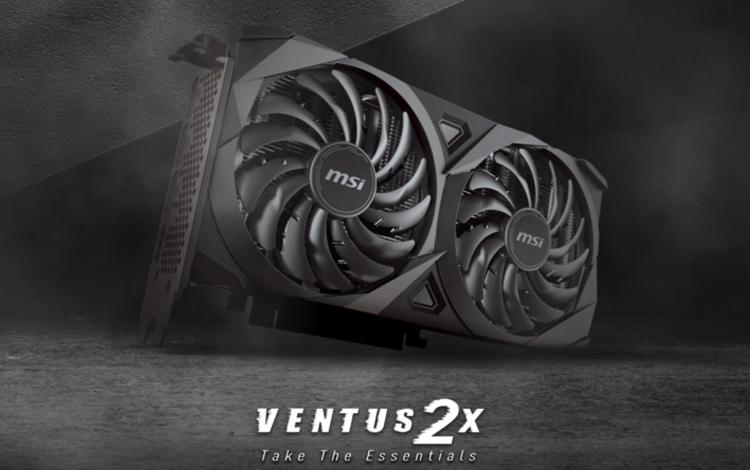 MSI công bố MSI GeForce RTX 3060 Ti Ventus 2X OC V1 - Ventus 2X