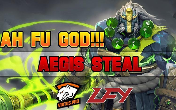 Những pha cướp Aegis ấn tượng nhất trong lịch sử Dota 2