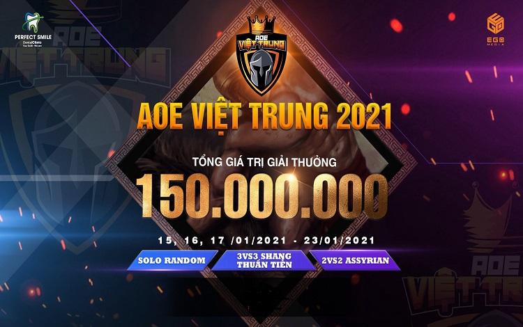 """Thông báo chính thức giải đấu """"AOE Việt Trung 2021"""""""