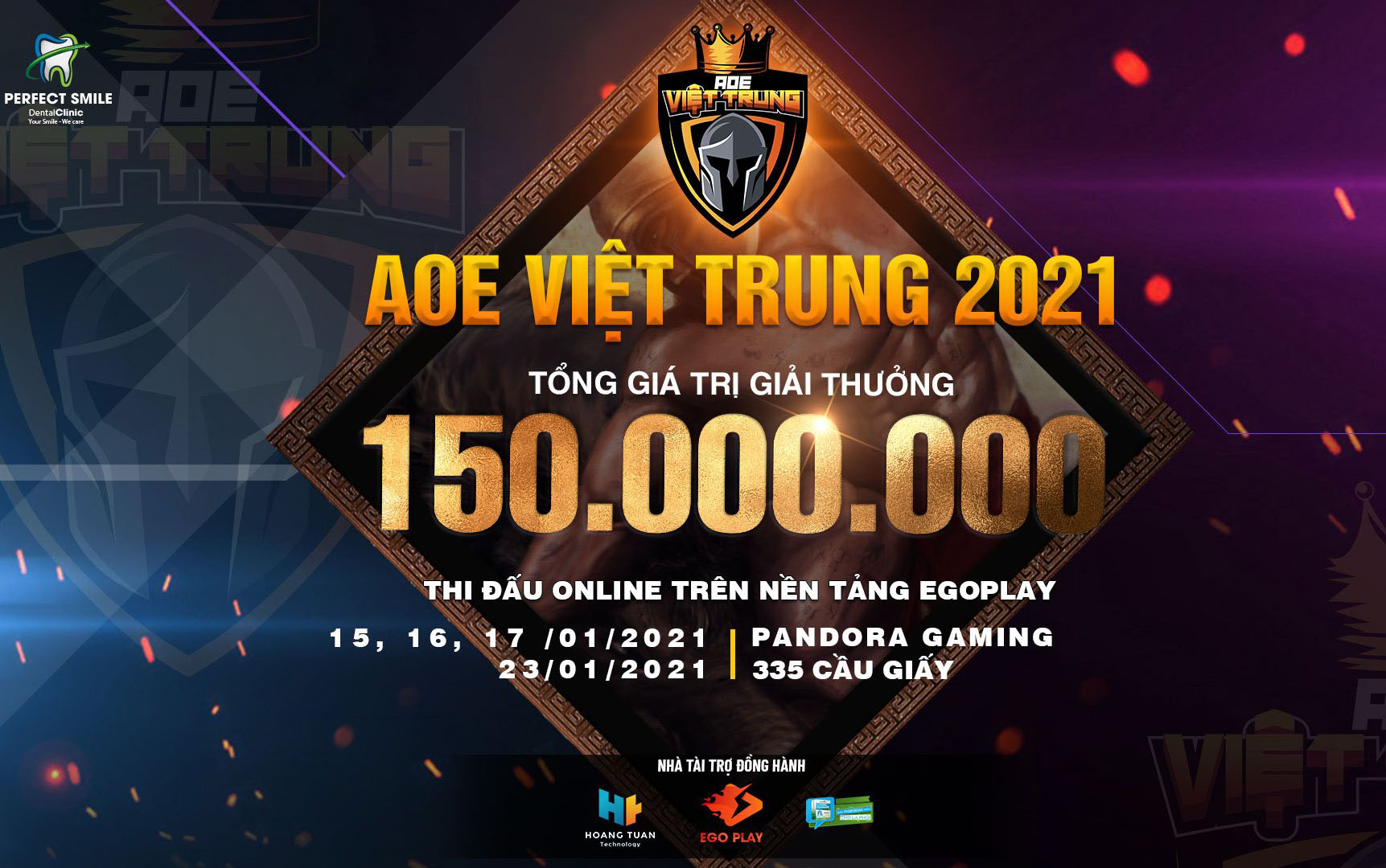 AoE Việt Trung 2021: Tường thuật trực tiếp ngày thi đấu thứ nhất