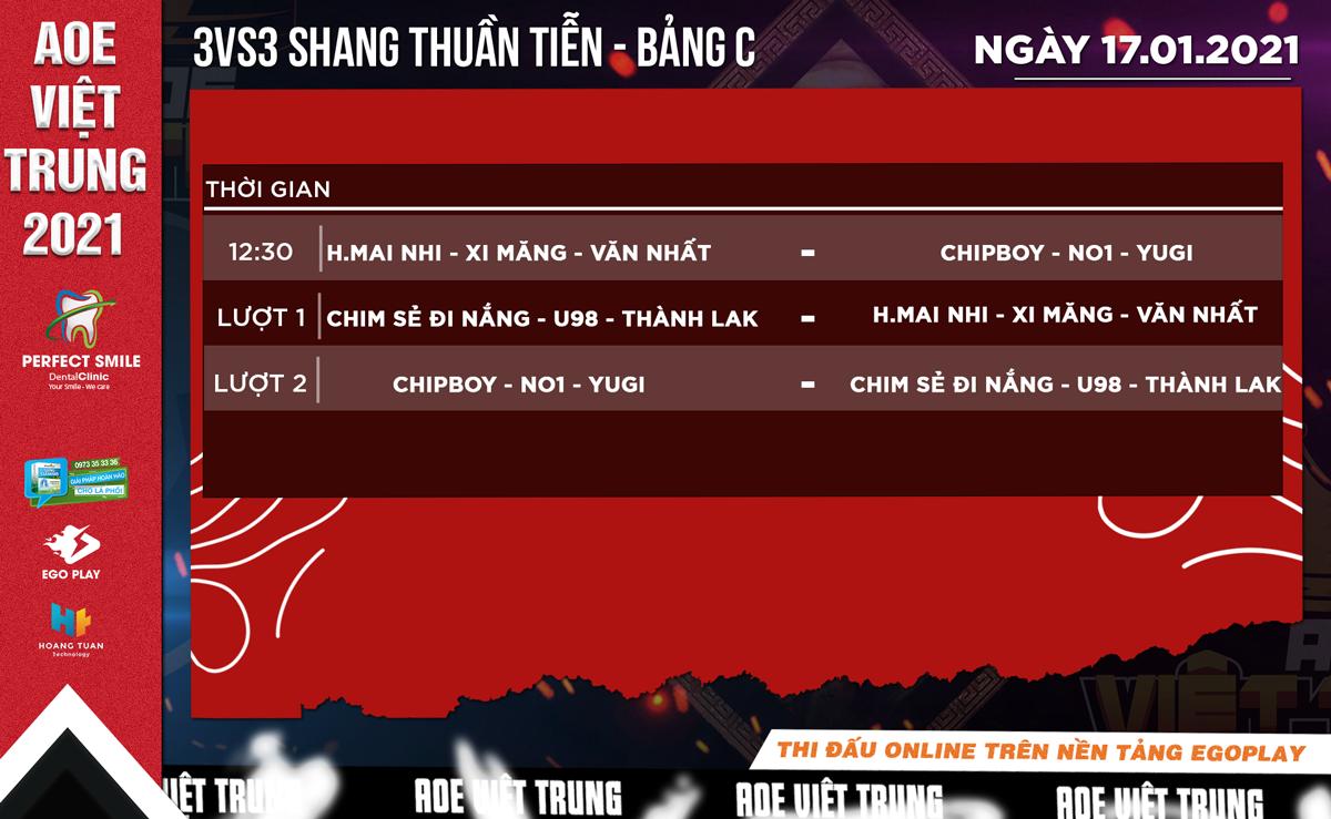 AoE Việt Trung 2021: Tường thuật trực tiếp ngày thi đấu thứ 3 - Nội dung 3vs3 Shang thuần tiễn