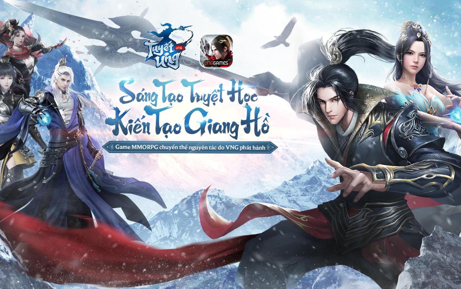Tuyết Ưng VNG tặng gift code nhân dịp ra mắt