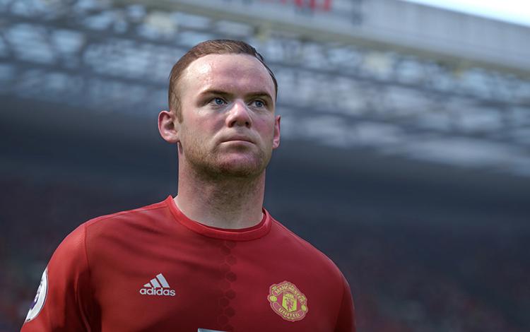 Cùng nhìn lại 5 bàn thắng tuyệt đẹp trong sự nghiệp của Rooney được mô phỏng lại trong game