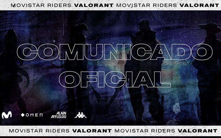 """Movistar Riders """"đá"""" rapaztriste khỏi đội hình VALORANT chính thức vì hành vi cheating"""