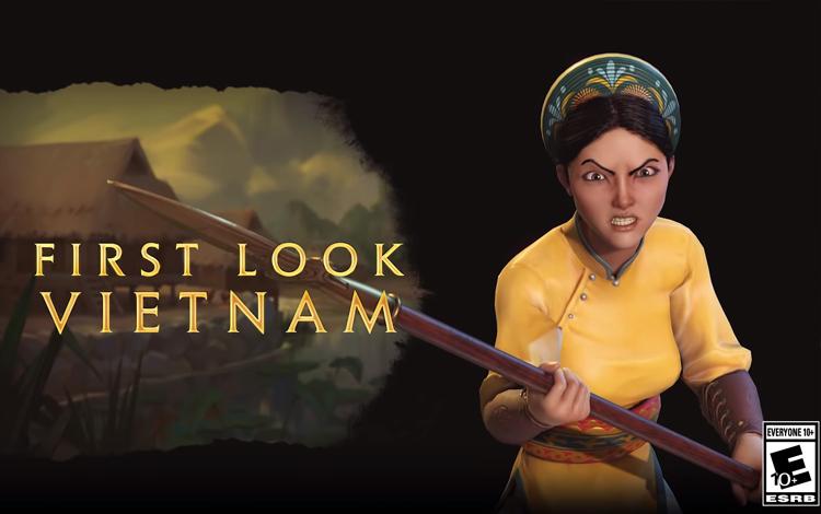 Civilization VI ra mắt DLC Vietnam với leader Bà Triệu, binh chủng Voi chiến và skill Đánh giặc