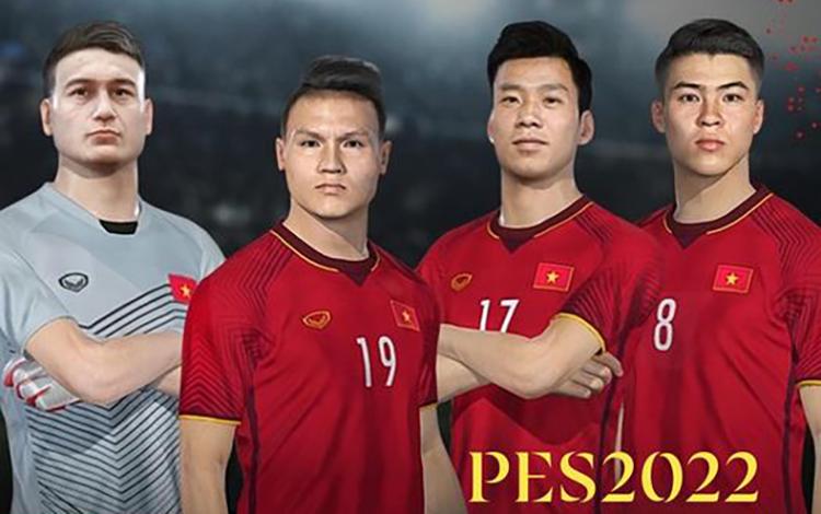 Đội tuyển bóng đá quốc gia Việt Nam sẽ chính thức góp mặt trong PES 2022