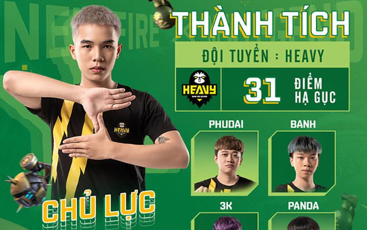 """Khán giả """"la ó"""" lối chơi tiêu cực của đương kim vô địch Free Fire Việt Nam"""