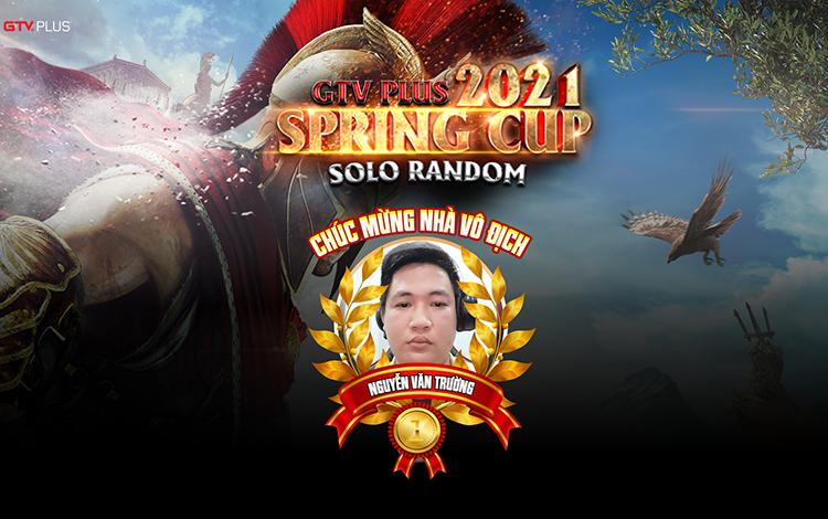 Lộ diện nhà vô địch Giải đấu GTV Plus Spring Cup 2021