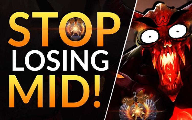 Dota 2 Tips: Phải làm gì khi Mid đã toang?