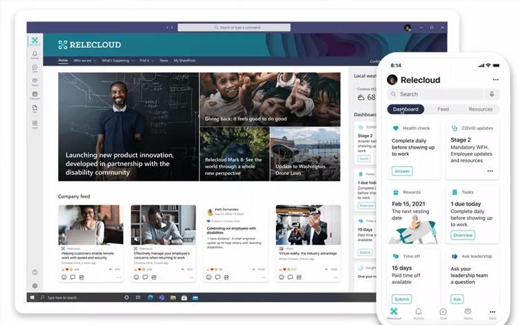 Microsoft ra mắt Viva, một nền tảng quản lý công việc, học tập từ xa