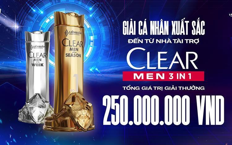 Đấu trường Danh vọng mùa Xuân 2021 sở hữu giá trị giải thưởng kỷ lục với sự tài trợ từ Clear Men