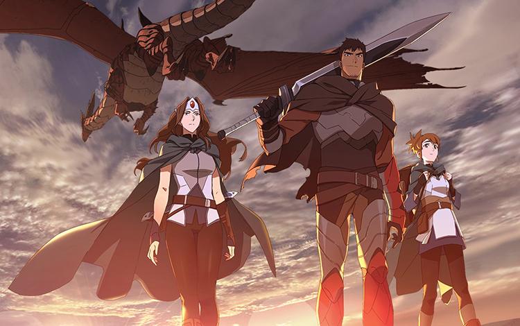 Những điều có thể bạn chưa biết về anime DOTA: Dragon Blood