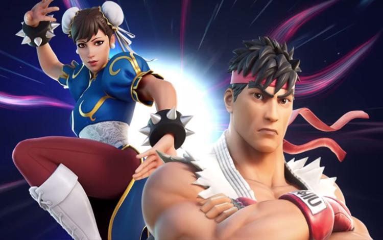 Chun-Li và Ryu bất ngờ xuất hiện tại Fortnite