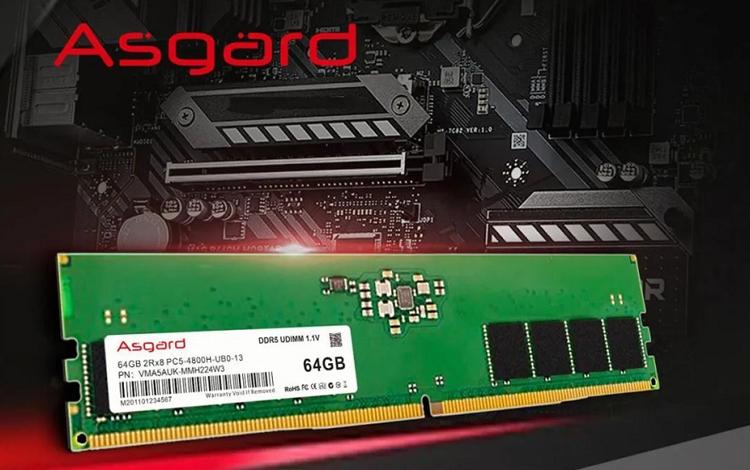 """Hãng RAM Trung Quốc trình làng module DDR5-4800 """"trần như nhộng"""" với dung lượng cực khủng lên đến 128 GB"""
