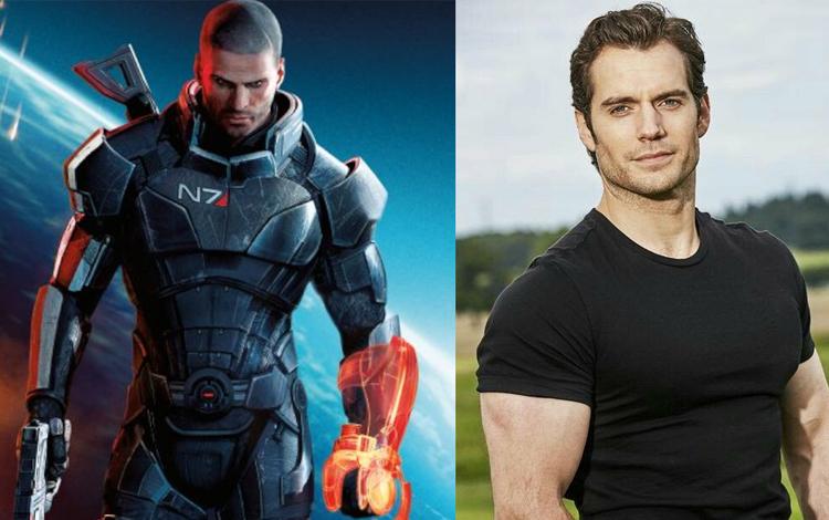 Superman Henry Cavill vô tình tiết lộ dự án mới của Mass Effect