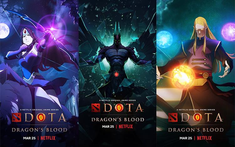 DOTA: Dragon Blood ra mắt Trailer: Selemene phản diện, Terrorblade góp mặt