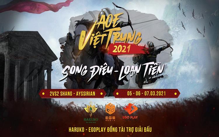 """Thông tin chính thức giải đấu AoE Việt Trung """"Song Điêu - Loạn Tiễn"""""""