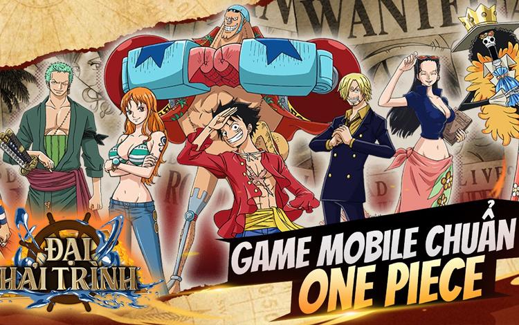 Các fan bộ truyện One Piece đứng ngồi không yên với game Đại Hải Trình