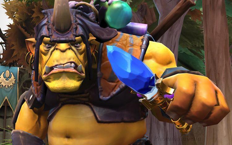 Bug: Chuyển vàng cho đồng đội bằng Alchemist và Aghanim Scepter?