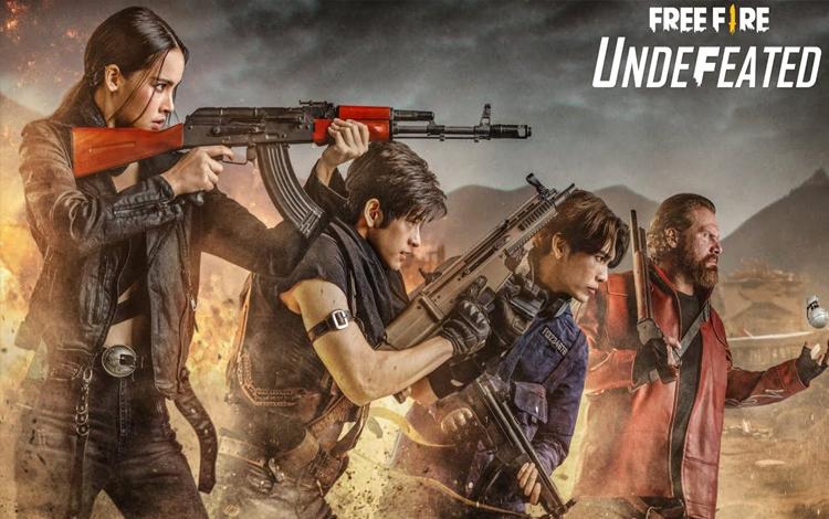 Máu làm phim lên cao, Free Fire phát hành một bộ phim ngắn mang phong cách live action có tên Undefeated