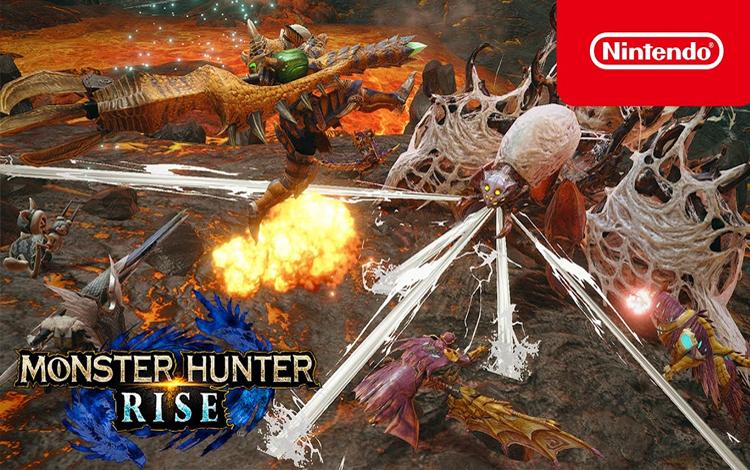 Monster Hunter Rise bán ra bốn triệu bản chỉ trong tuần đầu ra mắt