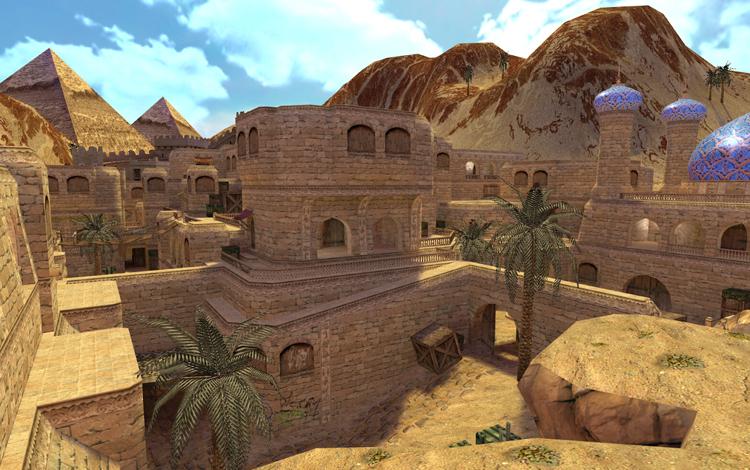 """Một """"modder"""" đã tái tạo lại map Dust2 trên phiên bản đầu tiên của Counter-Strike"""